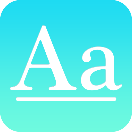 HiFont - Cool Font Text Free + Galaxy FlipFont app (apk) free download for Android/PC/Windows