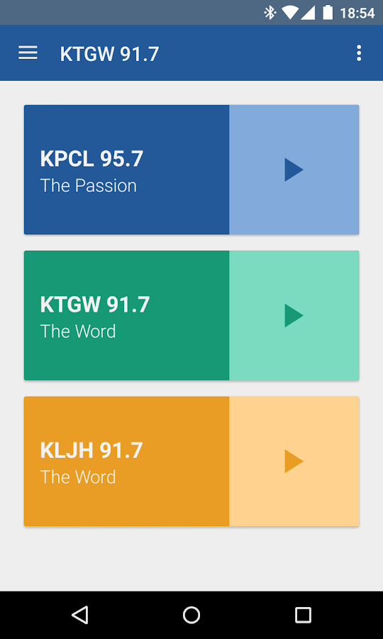 Passion Radio- screenshot