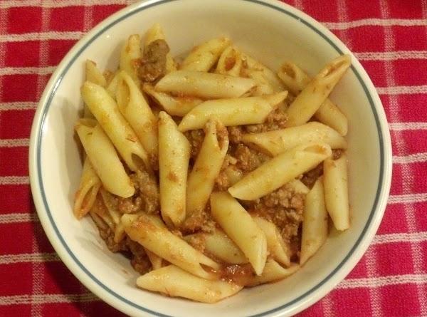 Mostaccioli Recipe