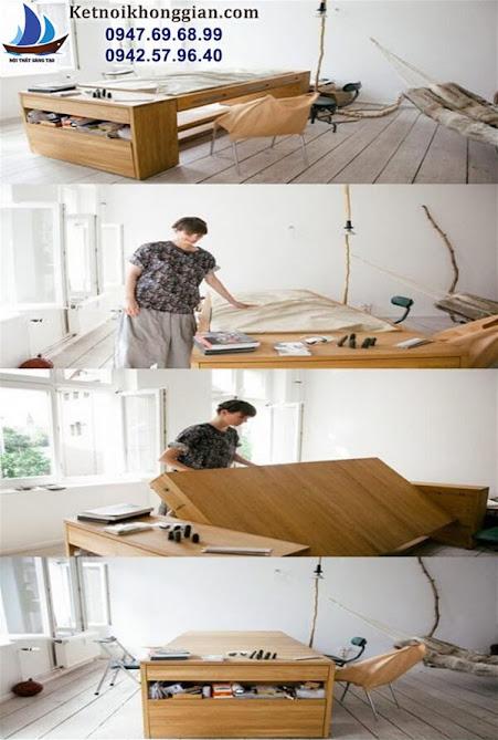 thiết kế giường ngủ
