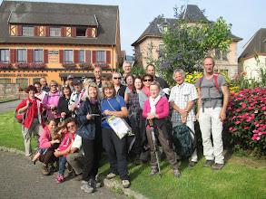 Photo: à l'arrivée à Ribeauvillé