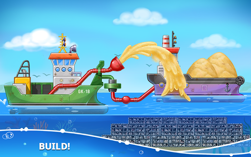 Build an Island. Kids Games for Boys. Build House screenshots 4
