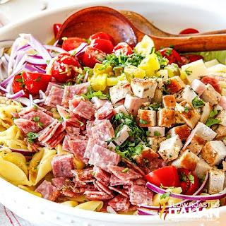 Cuban Pasta Salad with Mojo Dressing Recipe