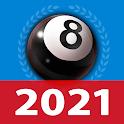 8 ball billiards offline online pool game icon