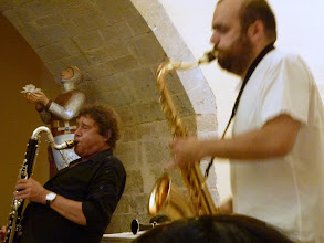 Photo: Louis SCLAVIS et Raphaël IMBERT