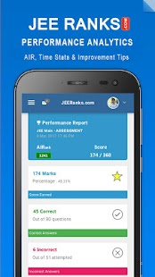JEE Ranks - IIT Rank Predictor- screenshot thumbnail