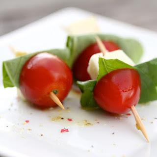 Mini Caprese Salad Skewers