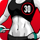 30日でお腹の脂肪を落とす ― ペタンコお腹,お腹痩せ icon