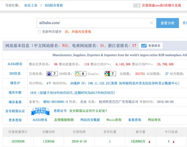 Zhanzhang Competitor Analysis Tool