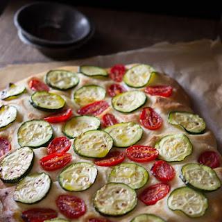 Zucchini Tomato Focaccia.