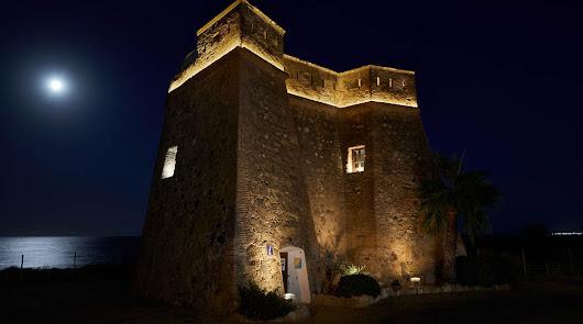 La iluminación de un castillo almeriense, finalista en premios internacionales