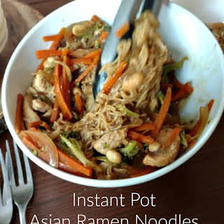 Instant Pot Asian Ramen Noodles.