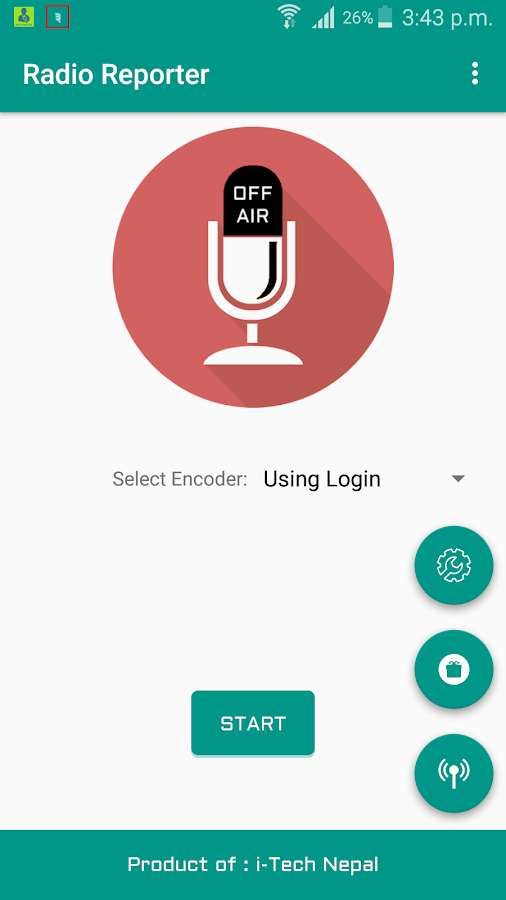 Radio Reporter- screenshot