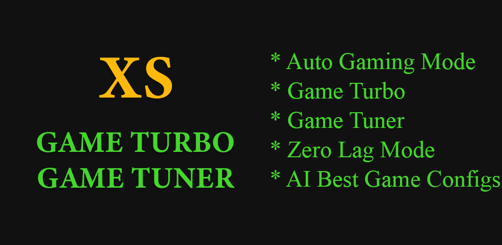 Descargar Game Booster Xs Game Turbo Game Tuner Fix Lag