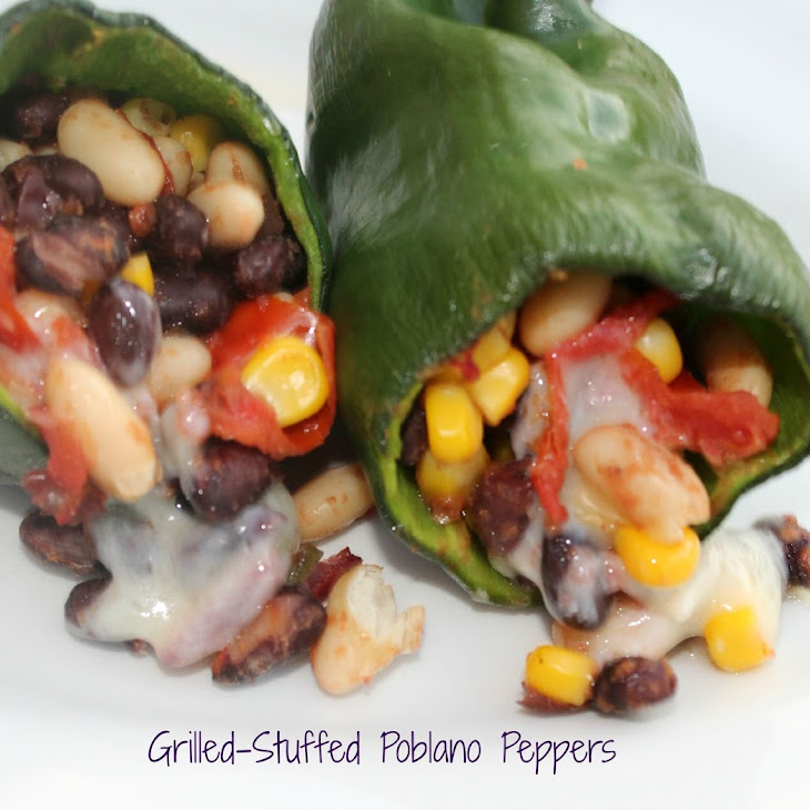 Grilled – Stuffed Poblano Peppers