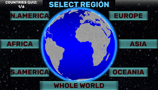 World Map Quiz: Coutries, Capitals, Flags  screenshots 4