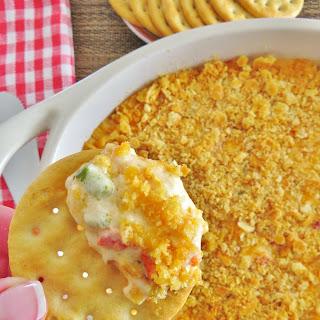 Warm Pimiento Cheese Dip.
