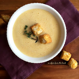 Cheese Soup~ The Driskill Hotel/1886 Cafe & Bakery Austin, TX