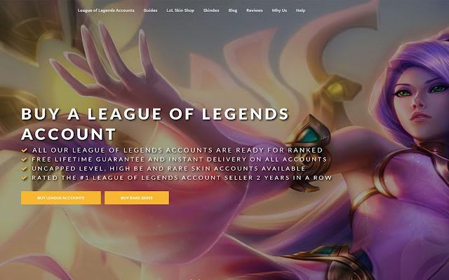 League of Legends Account Viewer