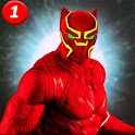 Black speed hero Monster Panther Game : Flash War icon