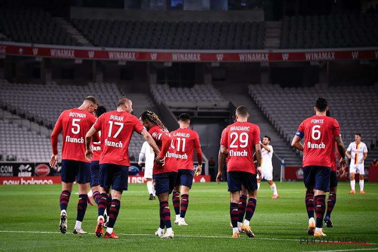 Ligue 1 : Lille remporte le derby du Nord et s'empare du fauteuil de leader