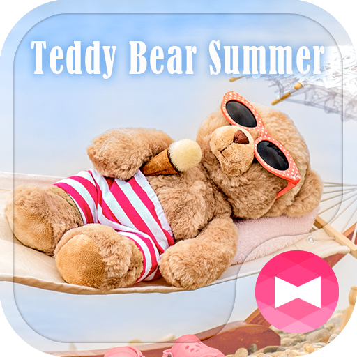 Cute Wallpaper Teddy Bear Summer Theme