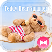 Cute Wallpaper Teddy Bear Summer Theme