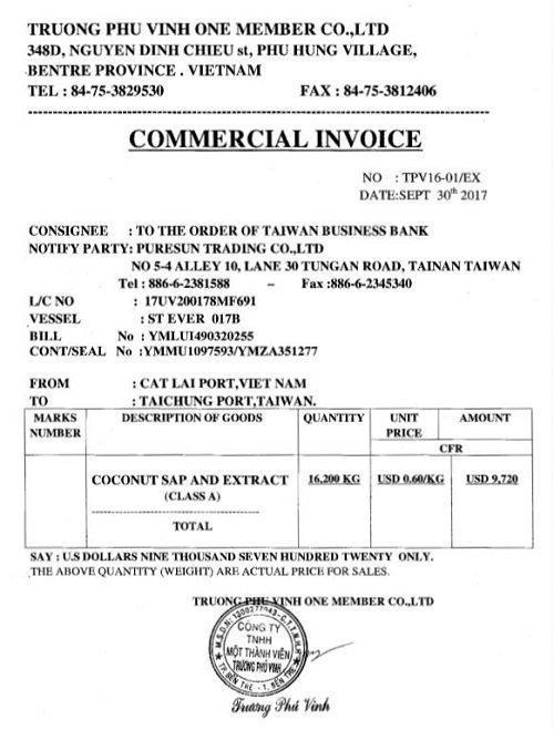Invoice là gì? Vai trò của invoice trong xuất nhập khẩu-2