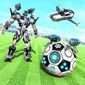 Football Robot Car Transform: Muscle Car Games icon