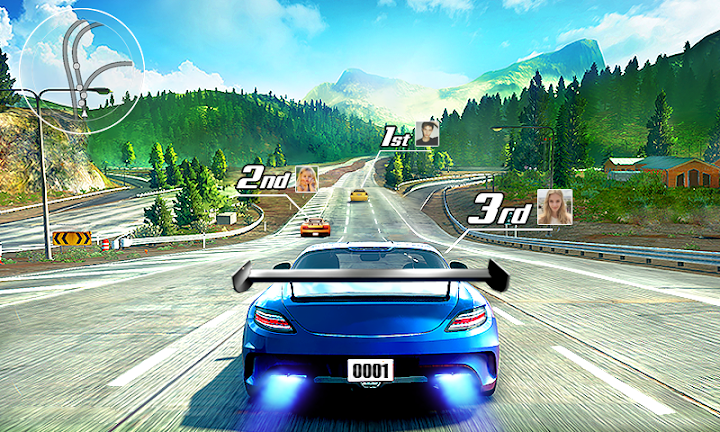 Street Racing 3D Android App Screenshot