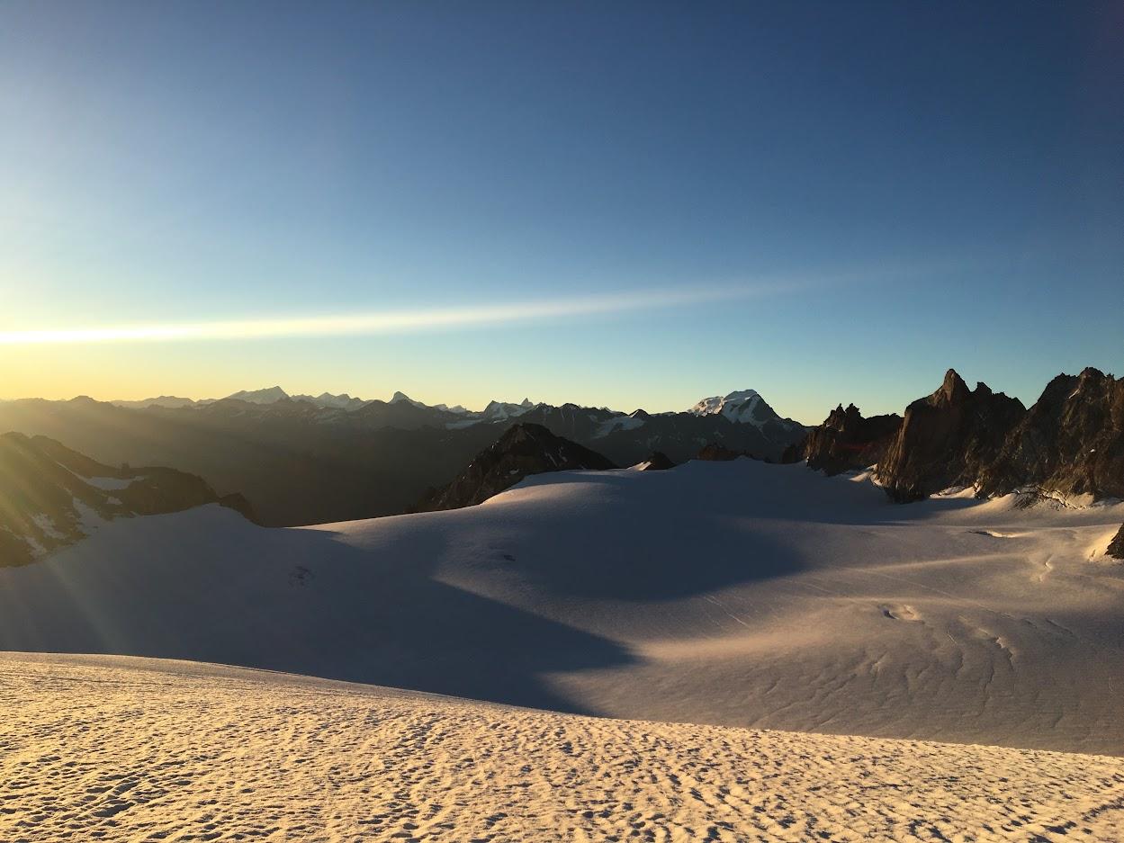 Matterhorn op de achtergrond
