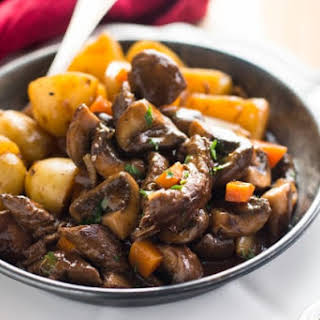 Skillet Beef Tips and Gravy.