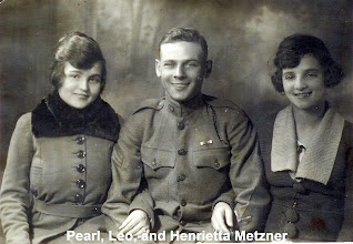 Photo: Pearl, Leo, and Henrietta Metzner