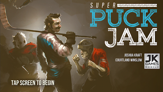 Super Puck Jam- screenshot thumbnail