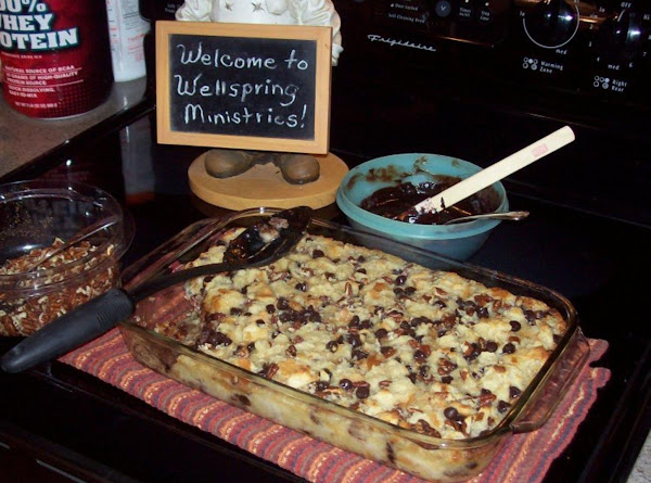 Debbie's Death By Chocolate Bread Pudding Recipe