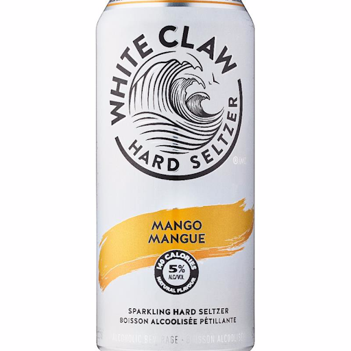 White Claw Mango Vodka Seltzer