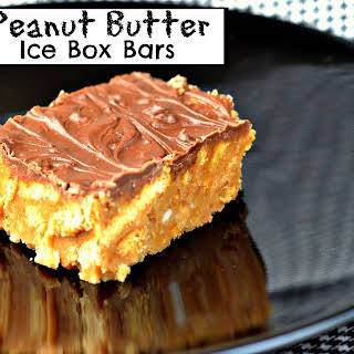 Peanut Butter Ice Box Bars.