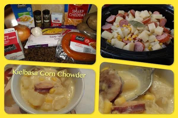 Kielbasa Corn Chowder