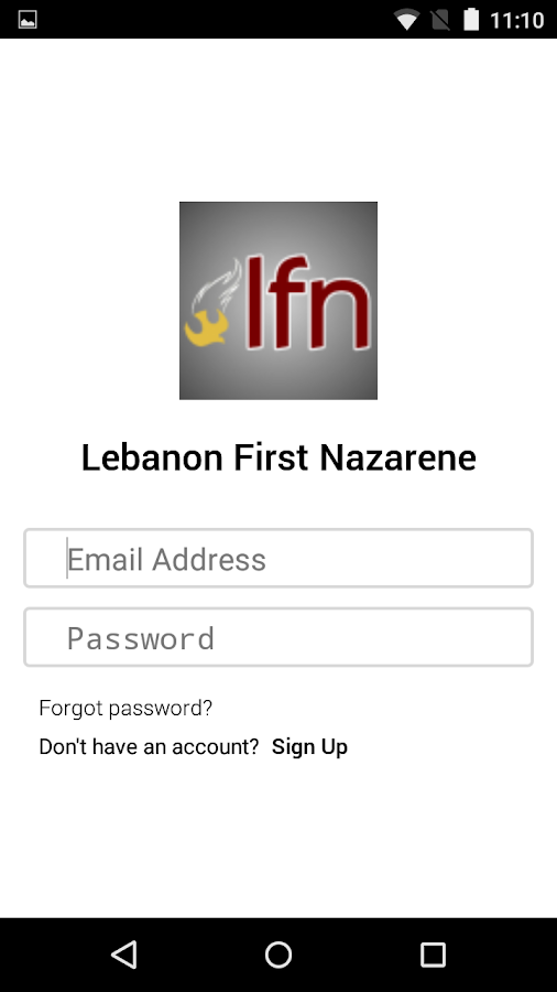 Lebanon First Nazarene- screenshot