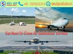 Pick Sky Air Ambulance in Bangalore with Hi-tech Medical Setup