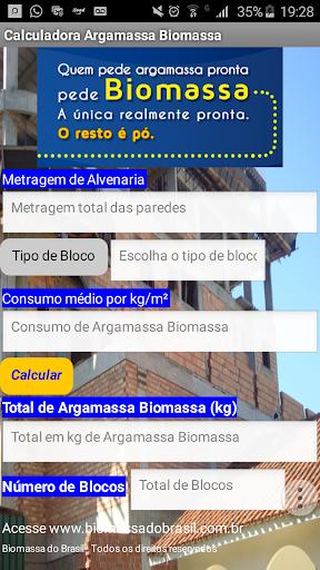 Argamassa Biomassa