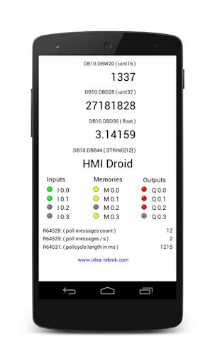HMI Droid