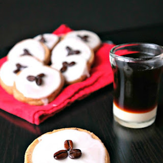 Vietnamese Iced Coffee Cookies.