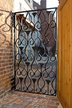 Photo: Spring 2008: Fence and back gate installed. Another gorgeous design by Dean Evans.