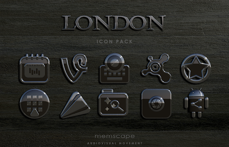 LONDON Icon Pack v1.7