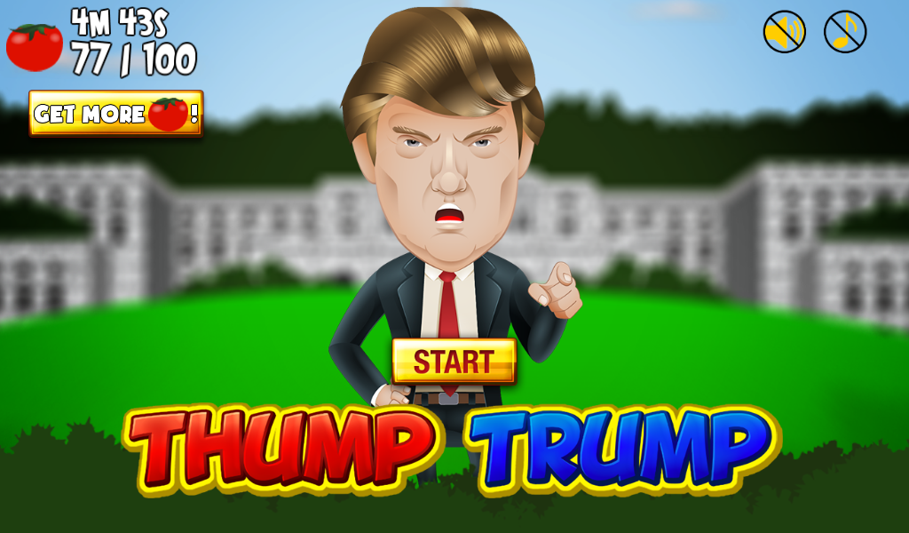 Thump Trump- screenshot