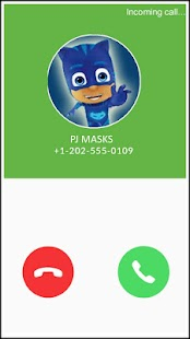 Pyjamasques Fake Call PJ Simulator Masks - náhled