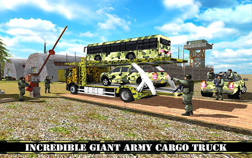 OffRoad US Army Transport Truck Simulator 2017- screenshot thumbnail