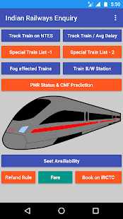 Indian Railways Enquiry Special Train, Avg Delay - náhled