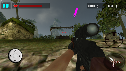 叢林狙擊手生存|玩動作App免費|玩APPs